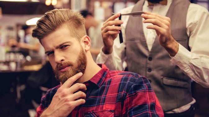 Мужская или детская стрижка, коррекция бороды вBarberShop Zori