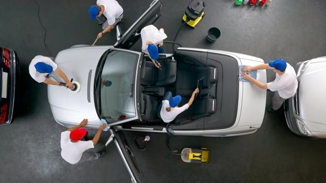 Мойка или комплексная химчистка автомобиля отавтомоечного комплекса «Автомойка»