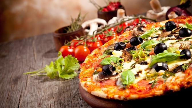 Вся пицца отпиццерии Rukkola соскидкой50%