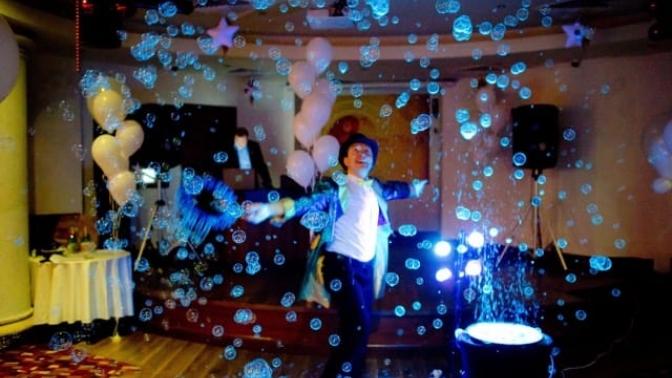 Онлайн-проведение анимационной программы, поздравления сднем рождения, выступления фокусника, квеста, вечеринки навыпускной, семейного праздника откомпании Fancy Bubbles