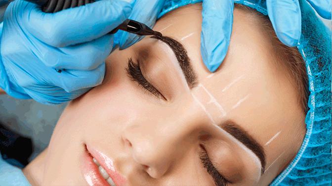 Перманентный макияж бровей, век или губ встудии Bvl_Studio