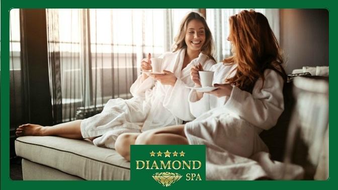 SPA-девичник Business, Premium или Luxury всети салонов Diamond SPA
