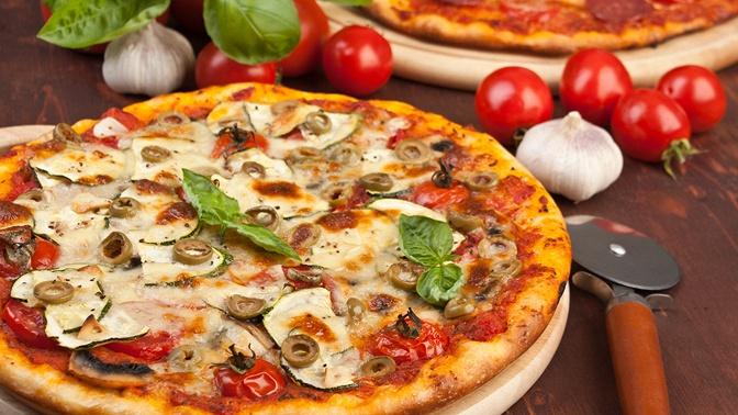 Доставка пиццы иягодного морса изПетергофа отслужбы доставки еды Lamericano