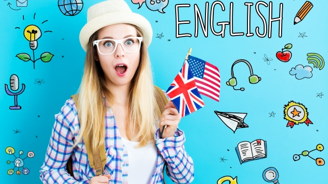 Изучение английского либо французского языка вшколе International Language Institute