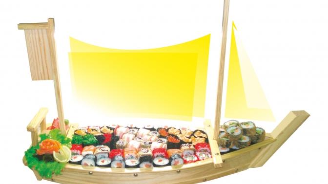 Суши, роллы, сеты ипицца отсети кафе «Факультатив» соскидкой50%