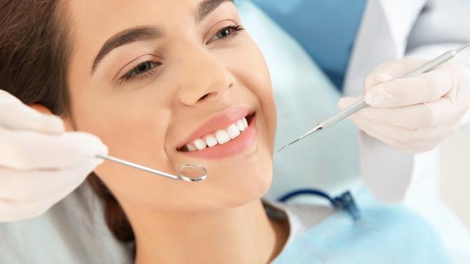 Гигиена полости рта сприменением ультразвука ифторированием, лечение кариеса встоматологии «Омега-Дент»