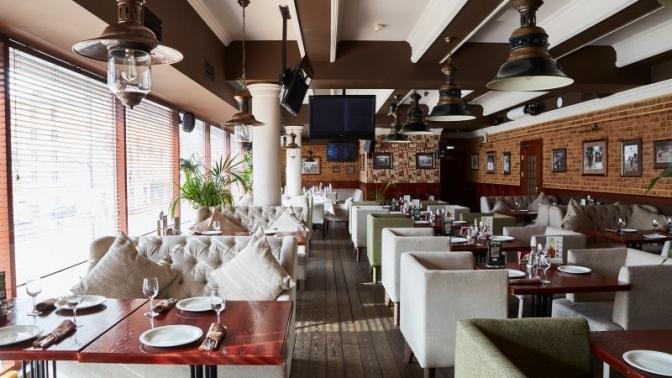Блюда меню вдвух ресторанах «Темпл Бар» соскидкой50%