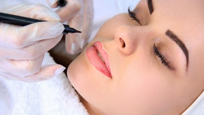 Перманентный макияж бровей, век или губ всалоне красоты «Софи»