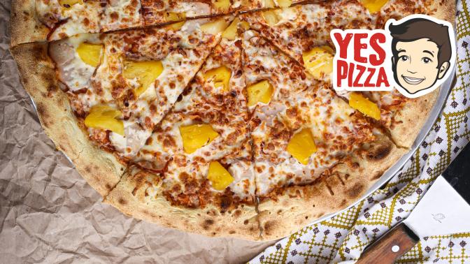 Доставка пиццы изресторана Yes Pizza соскидкой50%
