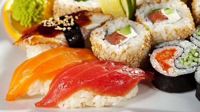 Пицца, суши, роллы изакуски отслужбы доставки Samurai соскидкой50%