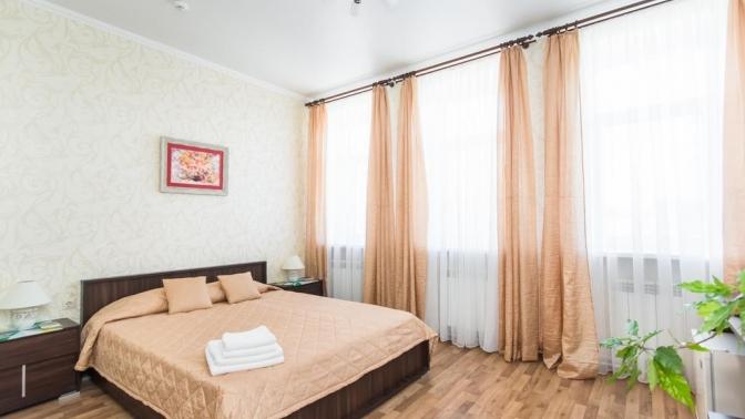 Отдых вцентре Казани вномере категории улучшенный или комфорт ссауной либо без вмини-отеле «НаСайдашева»