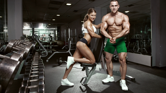 Безлимитный абонемент втренажерный зал на1или 6месяцев вфитнес-клубе Strong Gym