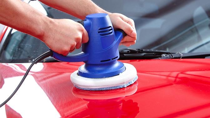 Абразивная или детейлинг-полировка автомобиля либо полировка фар вавтомоечном комплексе «Регион36+»