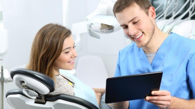 Ультразвуковая чистка зубов или чистка зубов потехнологии AirFlow вклинике «Моя стоматология»