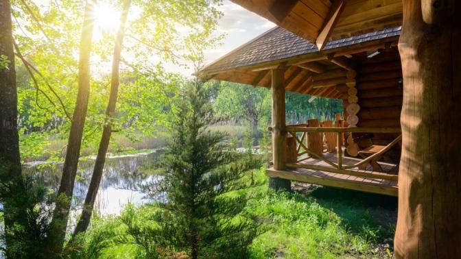 Отдых наберегу реки Зилим вдоме спосещением русской бани наэкобазе вгорах «Шишки»