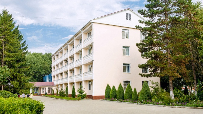 Оздоровительный отдых вКраснодарском крае стрехразовым питанием ипроцедурами всанатории «Лаба»