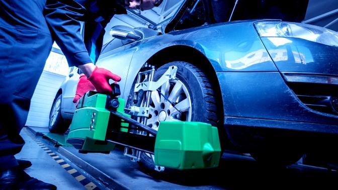 Регулировка развала-схождения передней оси или двух осей автомобиля отавтоцентра «West-СервисАвто33»