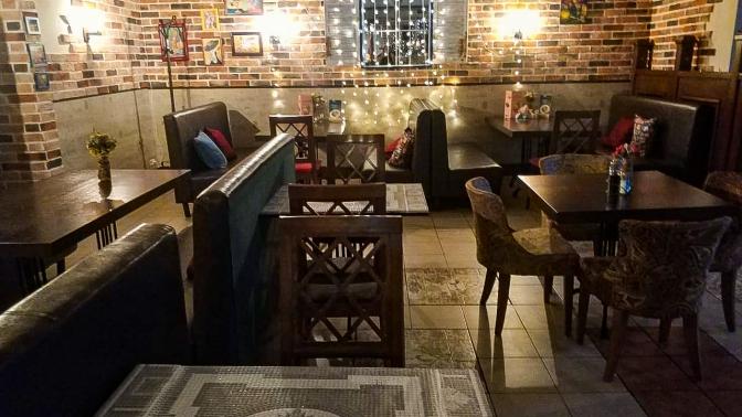 Блюда изменю инапитки вкафе LaStrada