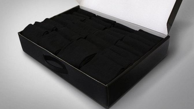 Подарочный кейс носков «Классик», «Бизнес», «Бамбук» или носков изльна икрапивы