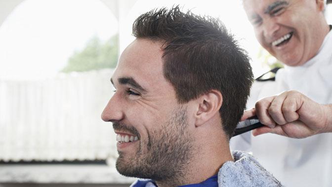 Мужская стрижка, моделирование бороды вбарбершопе «Барбер-мастер»