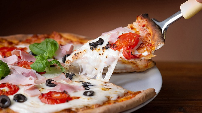 Пицца отслужбы доставки Pizza Casa соскидкой50%