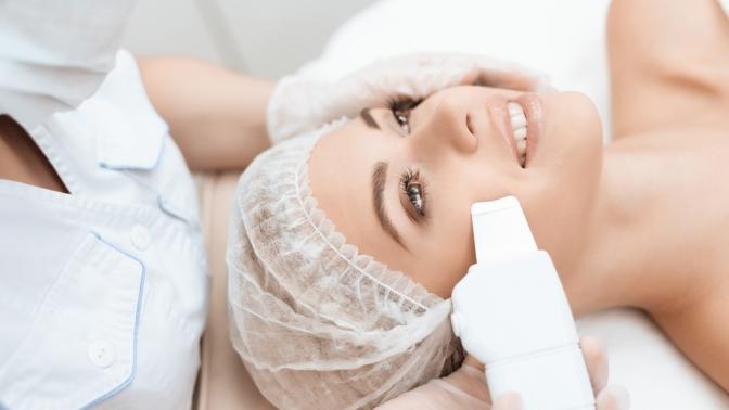 1, 3или 5сеансов лечения акне ипостакне, ультразвуковой, вакуумной или комбинированной чистки лица, пилинга всалоне Estetika