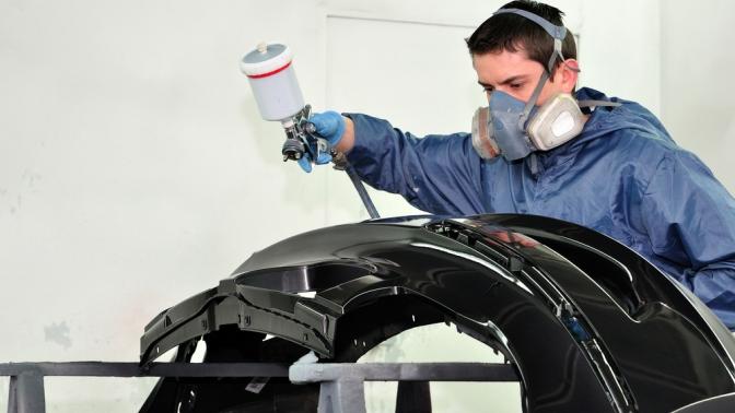 Полная покраска кузова автомобиля или деталей вцентре кузовного ремонта «Триумф»