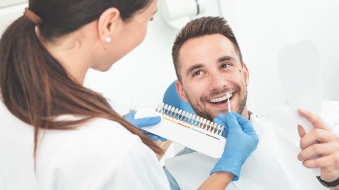 Процедура косметического отбеливания зубов отстудии White &Smile Kaliningrad (1500руб. вместо 3000руб.)