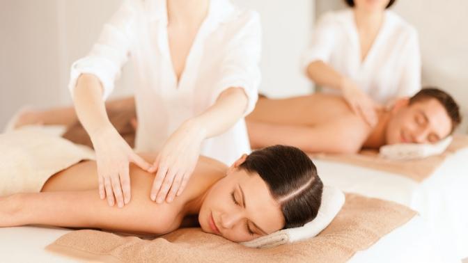 3или 5сеансов массажа спосещением кедровой бочки либо без всети салонов красоты Relax