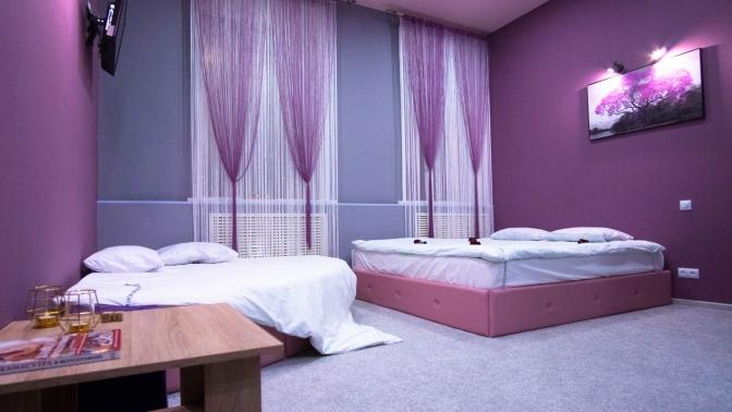 Посещение комнаты для взрослых вмини-отеле Sova54