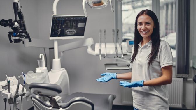 Ультразвуковая ипрофессиональная чистка зубов сустановкой скайса или без встоматологической клинике «Зубная Магия»