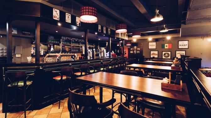 Всё меню инапитки вLeinster Pub