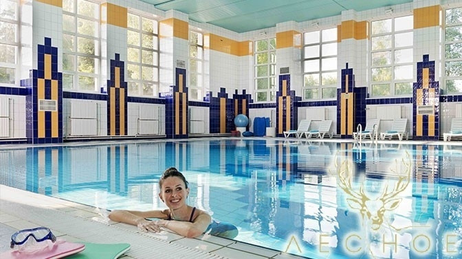 Отдых вномере выбранной категории с4-разовым питанием, посещением бассейна, банного комплекса, тренажерного зала вотеле-заповеднике «Лесное»