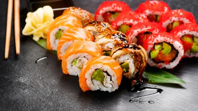 Суши-сет отресторана доставки «Итальянский самурай» соскидкой50%