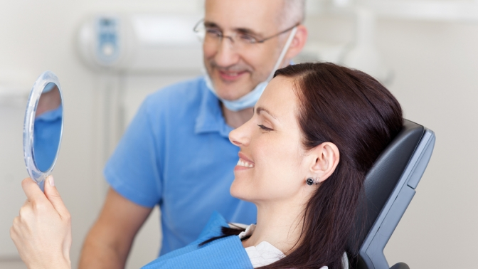 Профессиональная гигиена полости рта встоматологической клинике «КвинСтома»