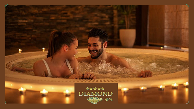 Романтическое SPA-свидание всети салонов Diamond SPA