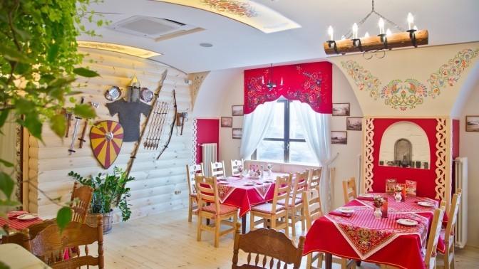 Всё меню кухни инапитки вдвух ресторанах «Илья Муромец» ичайхане «Казан» соскидкой50%