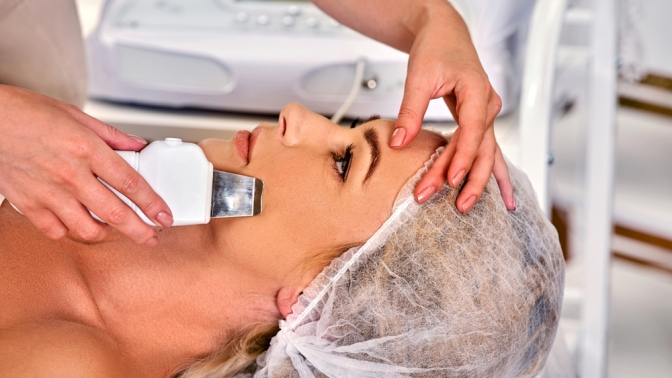 Ультразвуковая чистка, пилинг, массаж или биоревитализация лица в«N-студии»