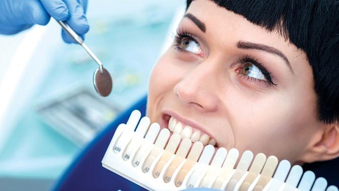 УЗ-чистка зубов сфторированием иполировкой отбеливающей пастой в«Стоматологии32»