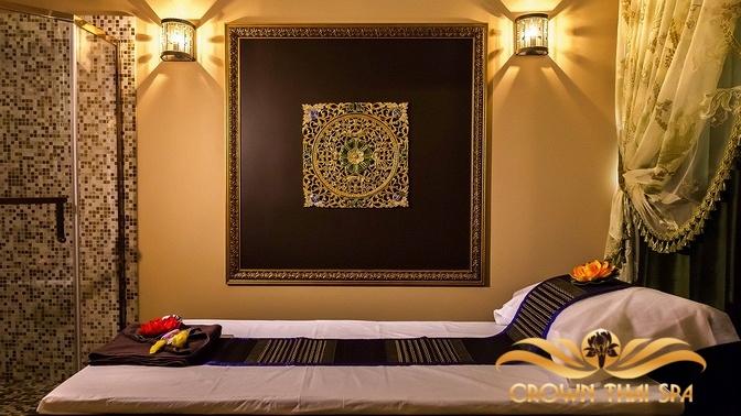 SPA-девичник или свидание по-тайски, тайский массаж, SPA-программа «Райское наслаждение» либо «Магия моря» всалоне Crown Thai SPA