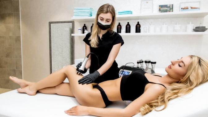 До7сеансов кавитации, лимфодренажного массажа или RF-лифтинга сконсультацией специалиста исоставлением программы питания вкабинете эстетической косметологии «Зефир»