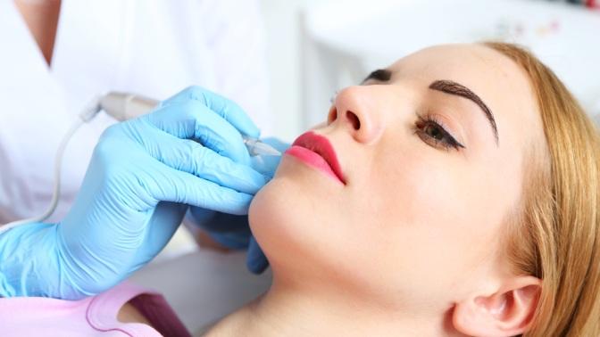 Перманентный макияж губ, век или бровей вкабинете красоты «Фантазия»