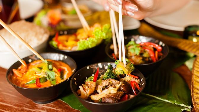 Всё меню инапитки вкафе тайской кухни ThaiwayFood