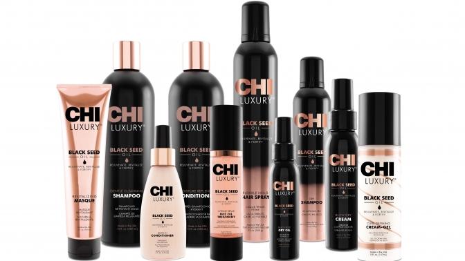 Косметика для ухода заволосами изсерии CHI Royal Treatment или CHI Luxury