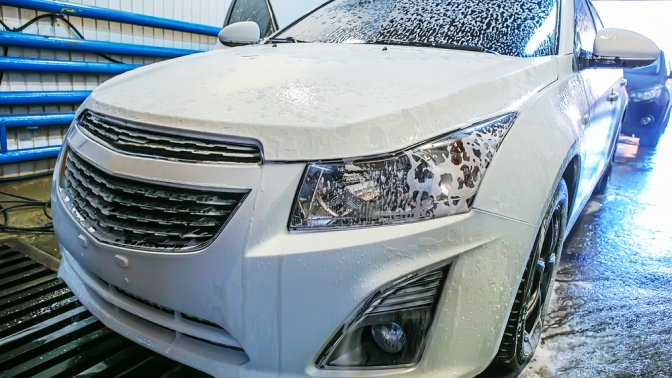 Комплексная или экспресс-мойка, предпродажная подготовка автомобиля вавтоцентре «УралМаш Авто»