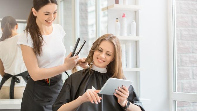 Женская, мужская или детская стрижка, окрашивание, вечерняя прическа или укладка волос, коррекция бороды всалоне «Ultra-стрижка»