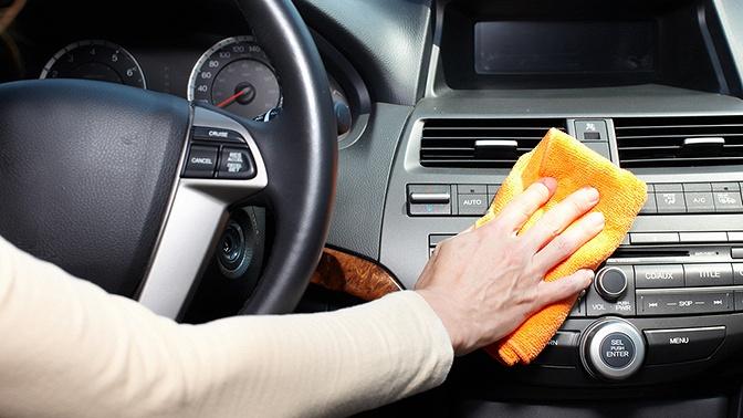 Химчистка иполировка автомобиля отавтосервиса «Чистая машина»