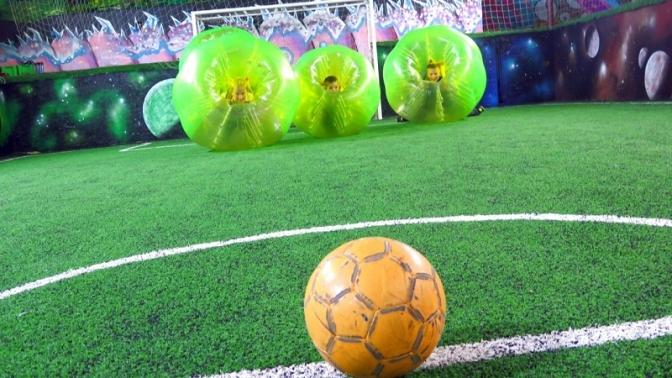 1час игры вбампербол вклубе Bumperball SPB