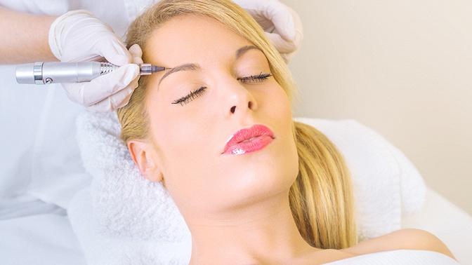Перманентный макияж бровей, век или губ или удаление перманентного макияжа вкабинете перманентного макияжа «Эстетка»