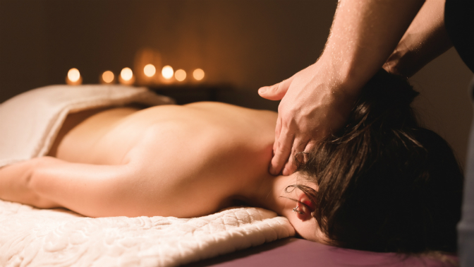До10сеансов массажа шейно-воротниковой зоны, спины, всего тела, антицеллюлитного массажа всалоне красоты «Эффект бабочки»
